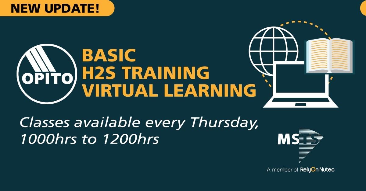 Basic H2S Training (OPITO) Virtual Learning